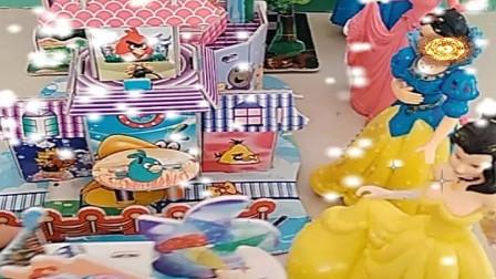 益智少儿亲子玩具:贝儿的房子太小了
