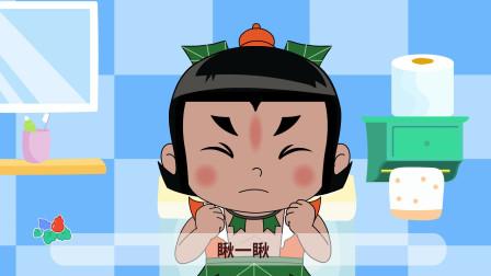 葫芦娃儿歌:拉臭臭 不同的动物拉的臭臭都不一样,真是好神奇呀!小朋友们你们的呢?