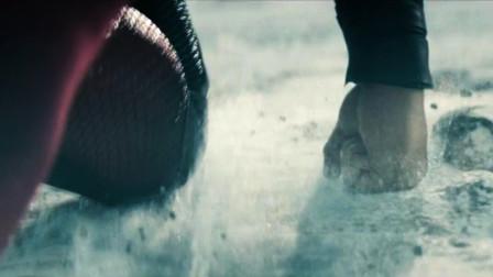 超人双手朝着地球一击,起飞后速度比导弹还要快,没有人能打败他