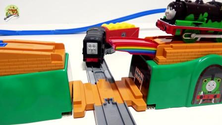 托马斯火车玩具,延伸彩虹桥玩具