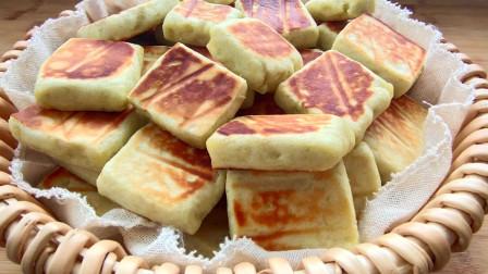 红薯又出新吃法了,加把面粉、简单又有特色,松软好消化。