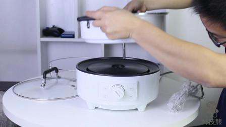 开箱体验,圈厨智能火锅,一键式自动升降,吃火锅神器!