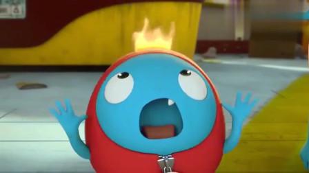 杰力豆:钻木取火失败,可RORO的头怎么.....也许他们需要一些水
