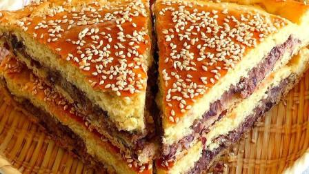 玉米面新吃法,不加一滴油,比面包简单,比蛋糕好吃,一吃就上瘾