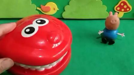 鳄鱼说自己的牙疼,乔治说吃棒棒糖就会好了,真的是这样吗