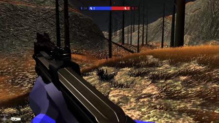 战地模拟器:万圣节地图,到处都是恐怖的幽灵