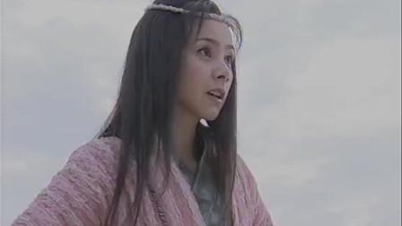 伏羲女娲兄妹两岸相隔, 头发却结在一起, 于是一竹渡江, 结成夫妻