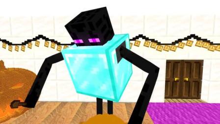 我的世界动画-怪物学院-雕刻南瓜-FULL Minecraft Animation