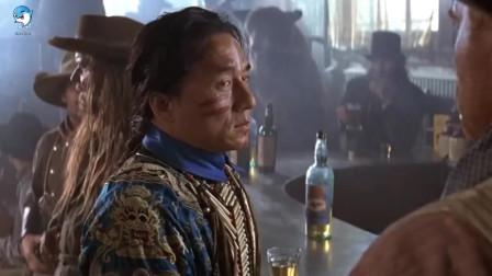 影视 成龙离开部落寻找公主 在西部酒馆被抓了起来