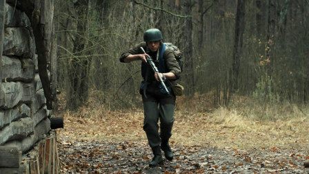 俄罗斯战争片,七名平民在丛林中,强悍对抗德军