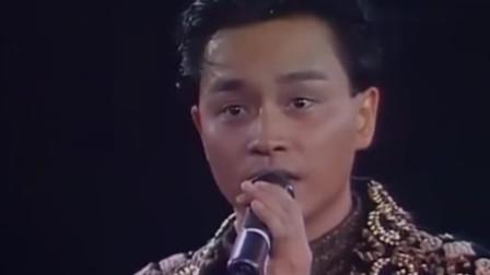 张国荣生前告别演唱会,哭着唱完经典歌曲,有太多的不舍