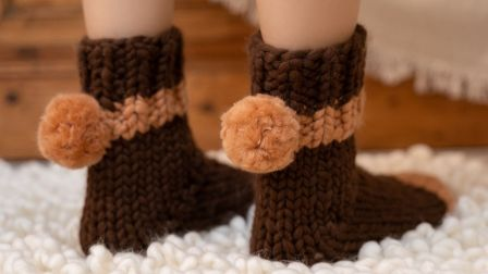 vol25. 袜子编织 | 巧克力姜饼'烹饪'Recipe【原创设计】