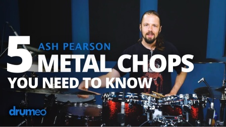 ★ME威律动★Ash Pearson - 5 Metal Chops You Need To Know