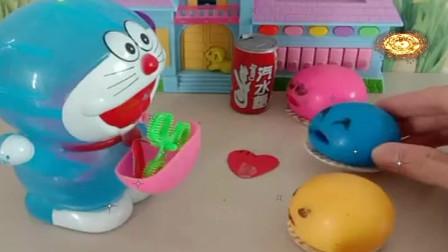 益智少儿亲子玩具:哆啦a梦的魔法口袋什么都能变出来吗348