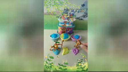 少儿益智游戏玩具:是谁把水果踩坏的