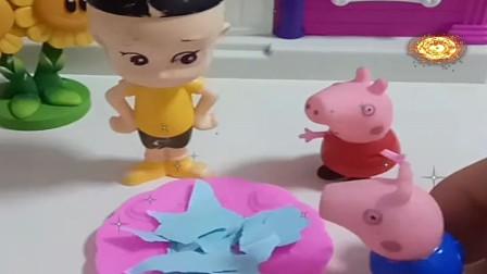 益智少儿亲子玩具:大头哥哥怎么吃纸呢535