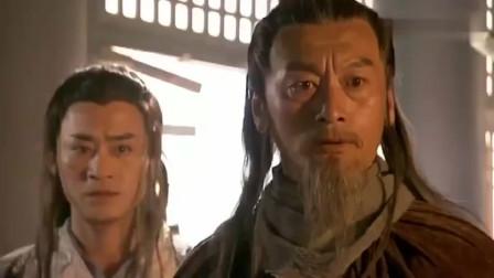 鸠摩智竟想偷袭扫地僧,扫地僧一招教他如何做人,众人看呆了