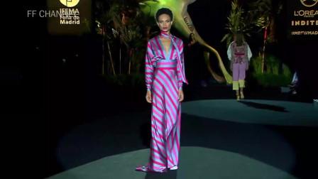 经典T台秀:2020纽约春夏时装周Hannibal Laguna品牌时装秀第十七部分