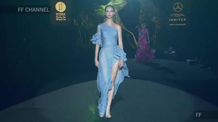 经典T台秀:2020纽约春夏时装周Hannibal Laguna品牌时装秀第十九部分