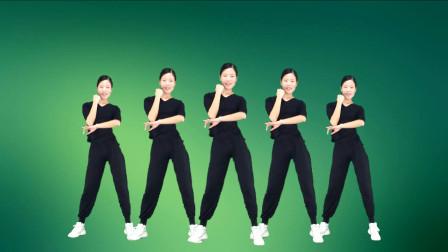 简单广场舞《dj凉凉》2019活力热身动感步子舞
