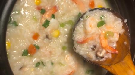营养海鲜粥,全家人都爱喝