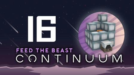 我的世界《FTBContinuum Ep16 工业高炉》Minecraft多模组生存实况视频 安逸菌解说