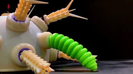 哈弗大学研究的海胆机器人,真有意思,不知道会应用到哪里
