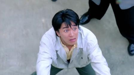 张敏和达叔同时跳楼,星爷只能接住一个,星爷做了所有男人会做的