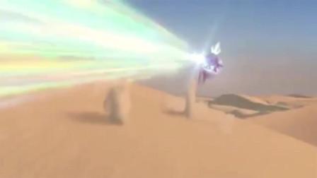 奥特曼:银河还能跟黑暗扎基一战?黑暗扎基这么弱?
