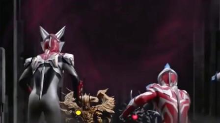 奥特曼:银河维克特利对付超强怪兽,他们能赢吗