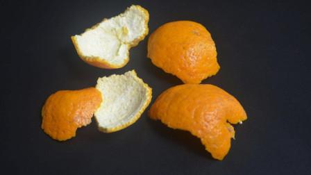 橘子皮是个宝,利用好能省下几百块!好多人不懂有啥用