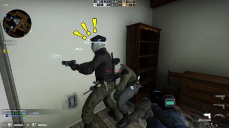 CSGO:不会玩电击枪的老六不叫好老六