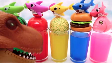萌宝儿童卡通玩具:恐龙居然逼睡衣小英雄表演杂技?太过分了