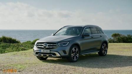 户外实拍2020款奔驰GLC外观与内饰, 喜欢这台车的来