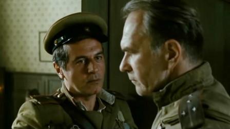德军无条件投降苏军在庆祝,不料少校的到来引发了战争