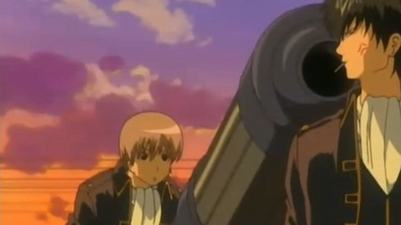 银魂:叫你准备大炮,没让你对准土方的脑袋,总悟竟连近藤局长也不放过!