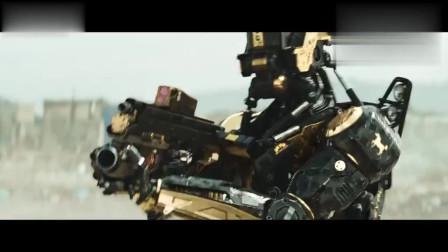 极乐空间:机器人向帅哥发射武器,帅哥的枪竟卡壳了,立马蹲下