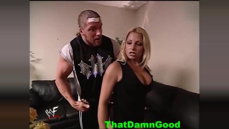 """WWE:男子后台""""潜规则""""女选手,画面太养眼,结果却尴尬了!"""