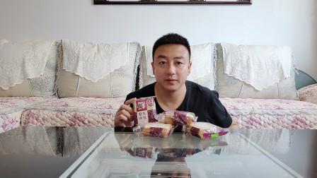 """试吃""""紫米面包""""单个分量大,味道感人,懒人早餐很合适!"""