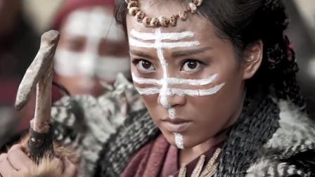 九州:蛮族大战黑甲骑士,一边拿着骨头一边拿钢铁,简直就是屠杀