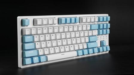 通吃各种平台 杜伽K320w多模无线机械键盘开箱