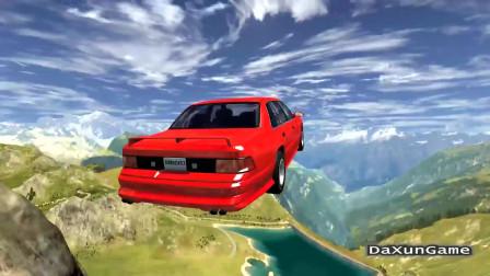 车祸模拟器:从山顶高速冲下来,红牛集团也不敢承接吧?