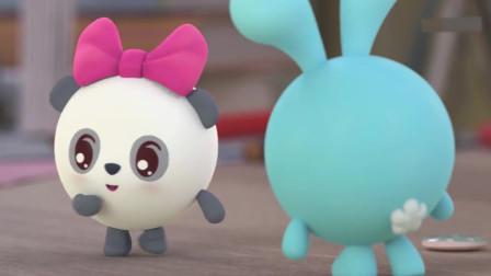 汪汪队少儿动画片:跳跳有好看的胡子,他要当小猫,却发出了汪汪的叫声!