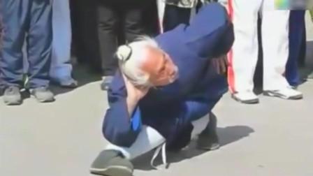 原来老大爷是个武林高手 在街头打的是什么功夫?