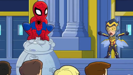 漫威番外动画,蜘蛛侠难道要和黄蜂女组CP,这事蚁人答应了吗?