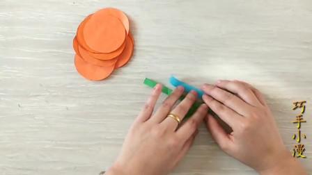 美丽的万圣节南瓜手工折纸!