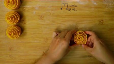 玫瑰花卷最简单的做法!不用擀皮不用切,这样做还是头一回见