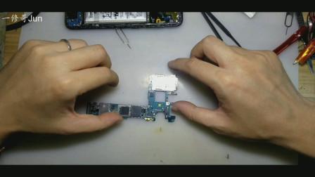 三星S8掉电非常快,最后电也充不进去了,是哪里问题呢?一修哥拆开看看是不是小电源坏了!