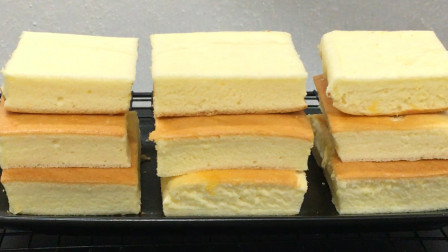 家庭烤箱做蛋糕,原来方法这么简单,细腻又松软,不回缩,零失败