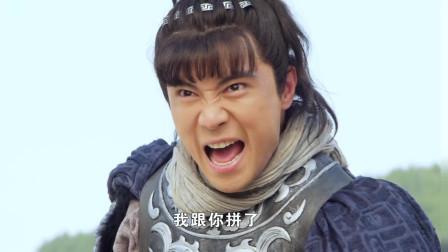 裴元庆阵前迎战李元霸,被铁锤震的口吐鲜血